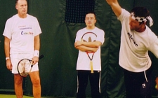 Learning Tennis from Pat Cash