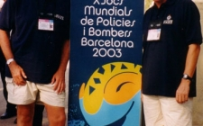 With Colin McKenzie at Barcelona WPFG 2003