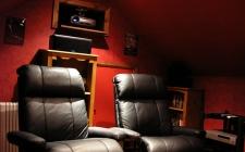 Odeon 3 - Colin's home cinema in the attic