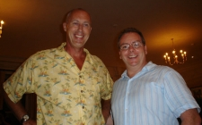 With Mike Stotter at Harrogate 2006