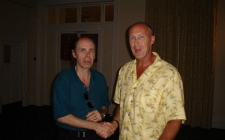 With Jeffrey Deaver at Harrogate 2006