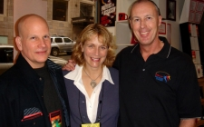 With Dave Corbett and Harvey J Kovak at Seattle LCC 2007