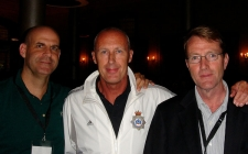 Between a rock and a hard place - With Harvey Corben and Lee Child at Harrogate Crime Festival 2007