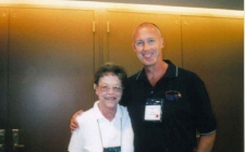 With Joan Hiller in Chicago