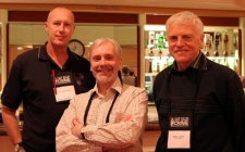 With Stephen Booth and Peter Lovesay at Bristol LLC 2006